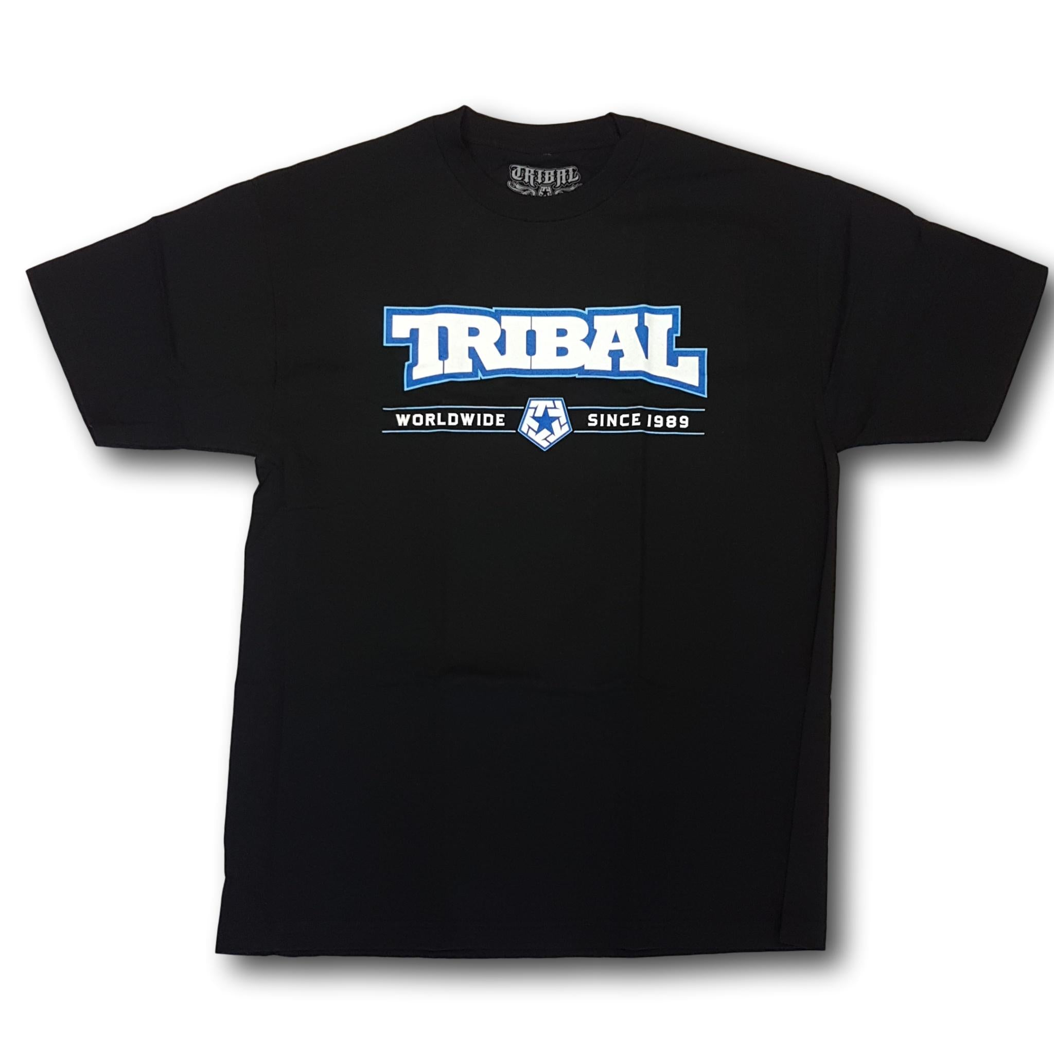 Tribal Arched Tee Black