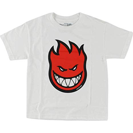 Spitfire Bighead Toddlers Tee White / Red