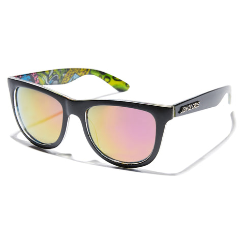 Santa Cruz Slimeball Sunnies Black / Blue