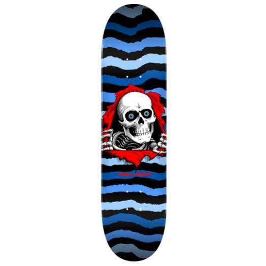 Powell Peralta Ripper Deck Blue 8.25""