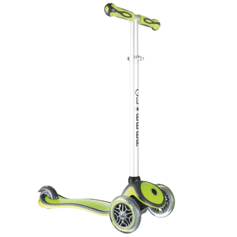 Globber Primo Plus 3 Wheel Scooter Lime Green