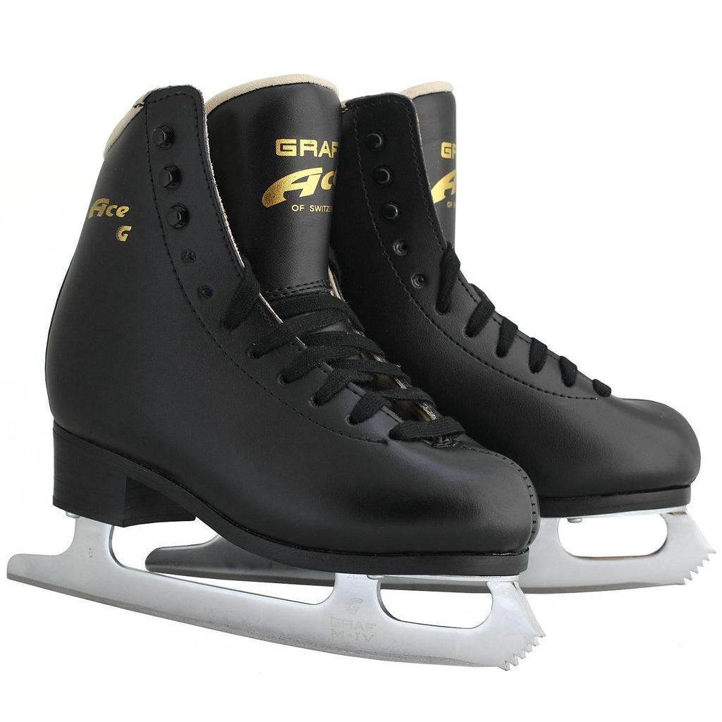 Graf Ace Original Youth Figure Skate Black