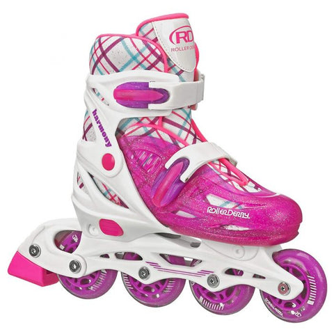 RDS Harmony Girls 3-6 Adjustable Inline Skates