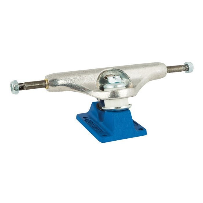 Independent Stage 11 Bar Cross Trucks Silver/Blue 149