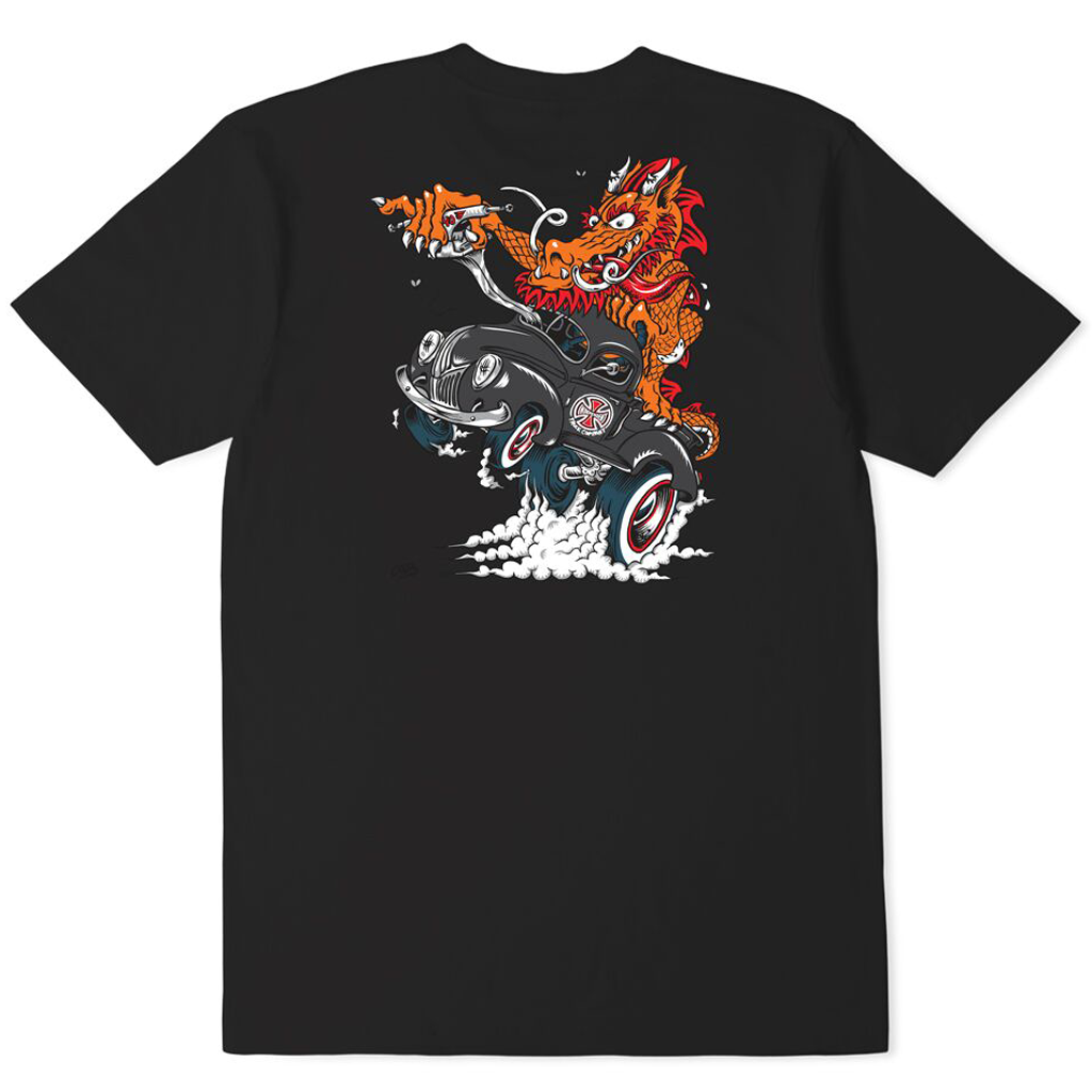 Independent Cab Dragster Tee Black