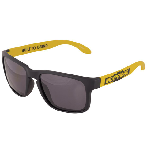 Independent Generation B/C Sunglasses Black / Yellow