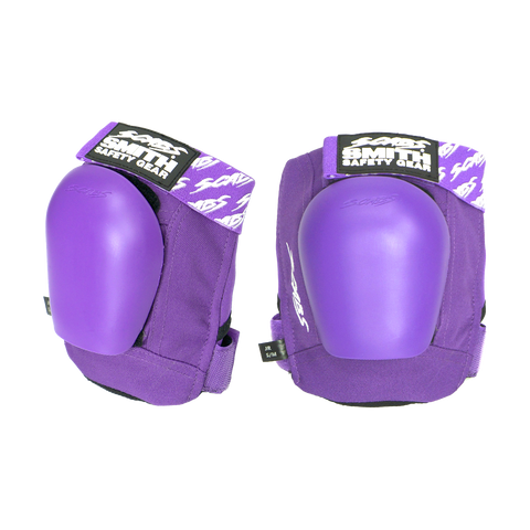 Smith Junior Pro Knee Pad Purple w Purple Caps