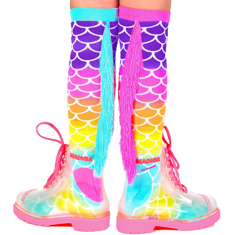 MADMIA Mermaid Toddler (aged 3-5) Knee High Socks