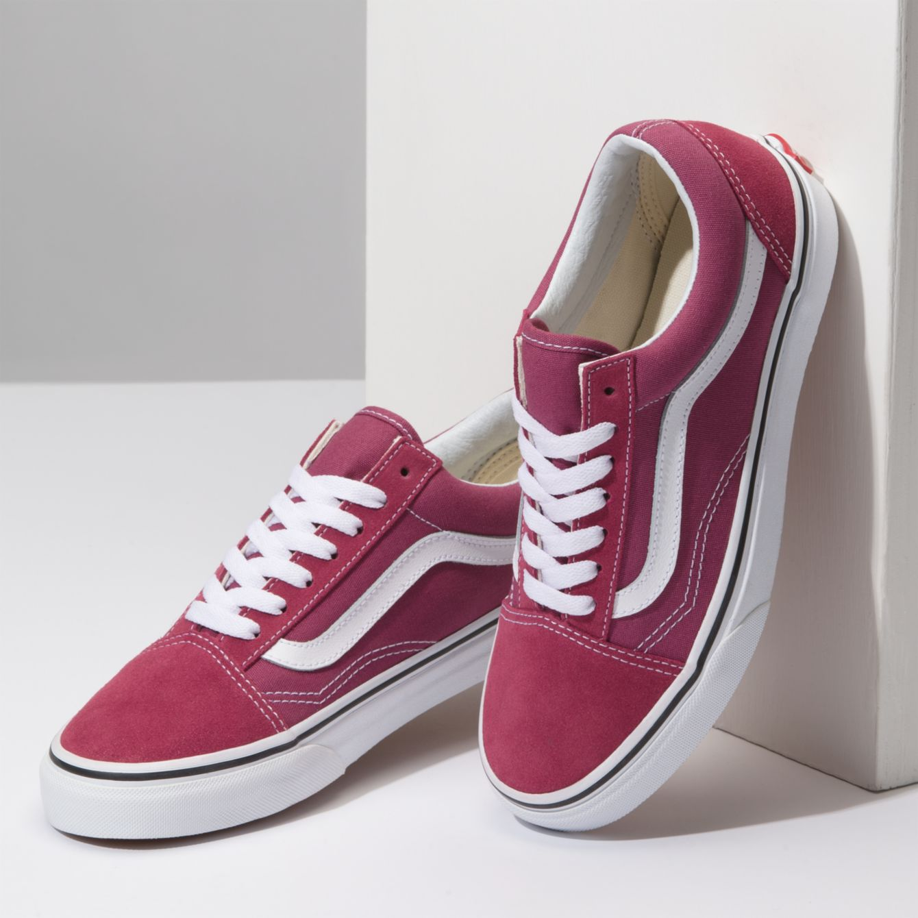17f581729c9c47 Vans Old Skool Dry Rose True White