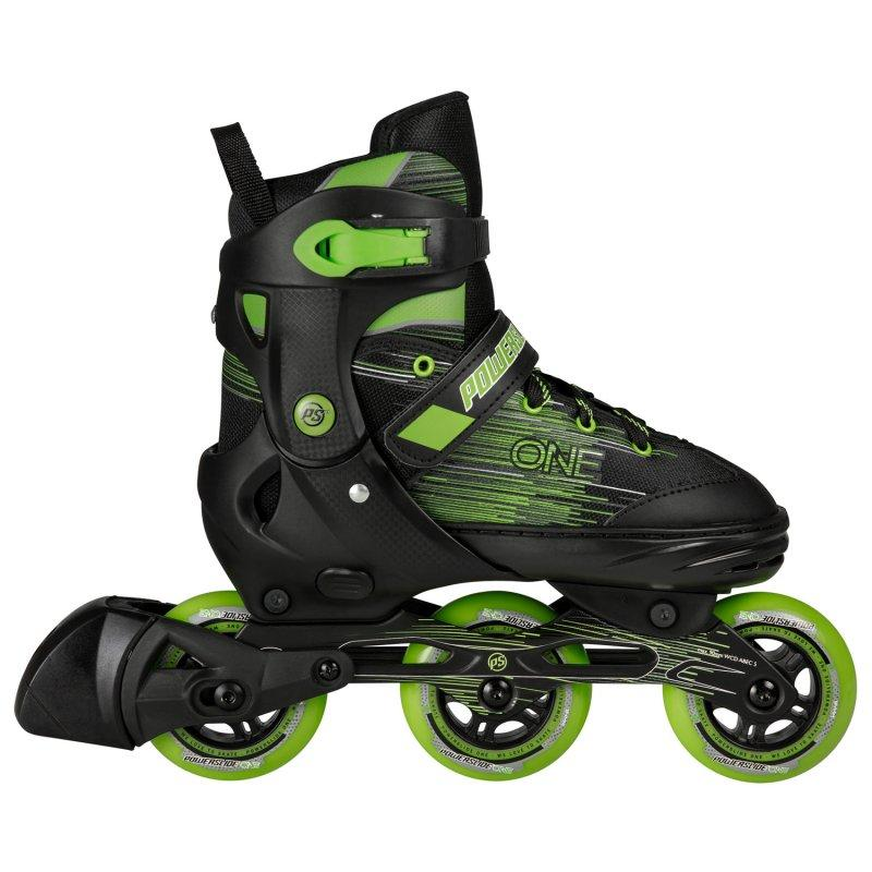 Powerslide One Joker Black/Green Inline Skates