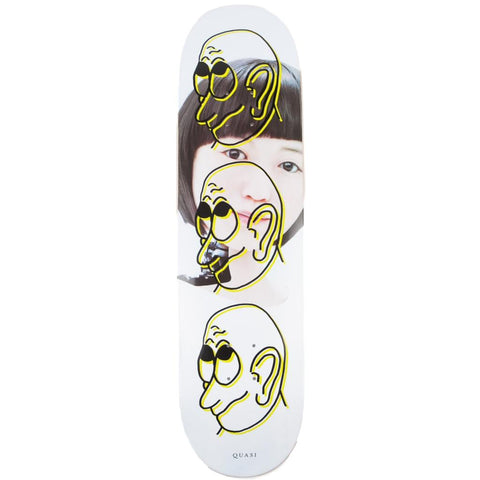Quasi Girl Yellow Skate Deck 8.25