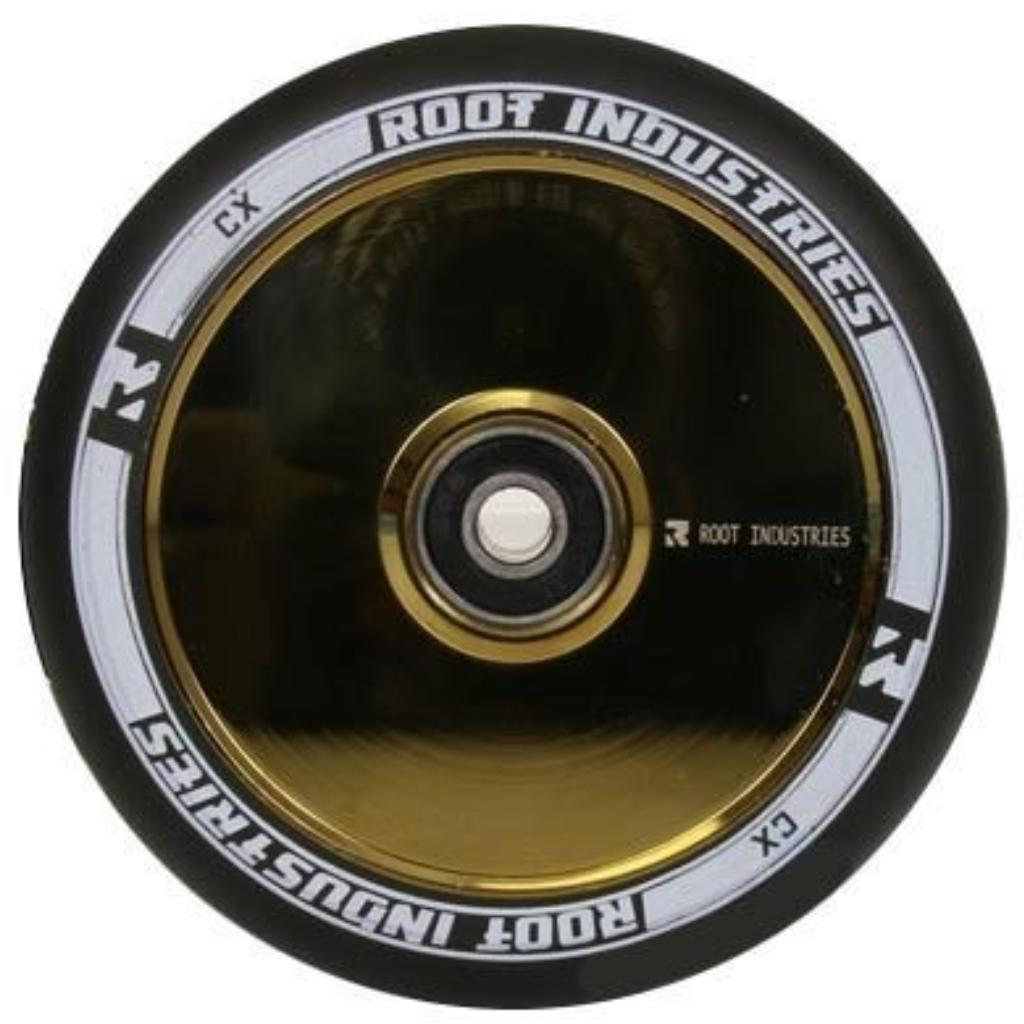 Root Industries Air Wheels 120mm Black/Gold Rush