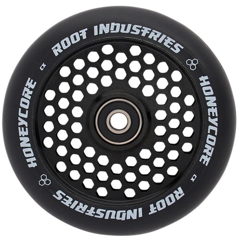 Root Industries Honeycore Wheels 120mm Black/Black