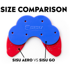 Sisu Go Adult Mouth Guard Charcoal Black