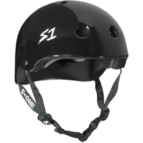 S-One Lifer Black Gloss Helmet