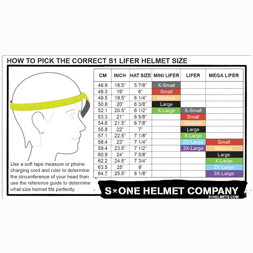 S-One Lifer Matte Black/Red Strap Helmet
