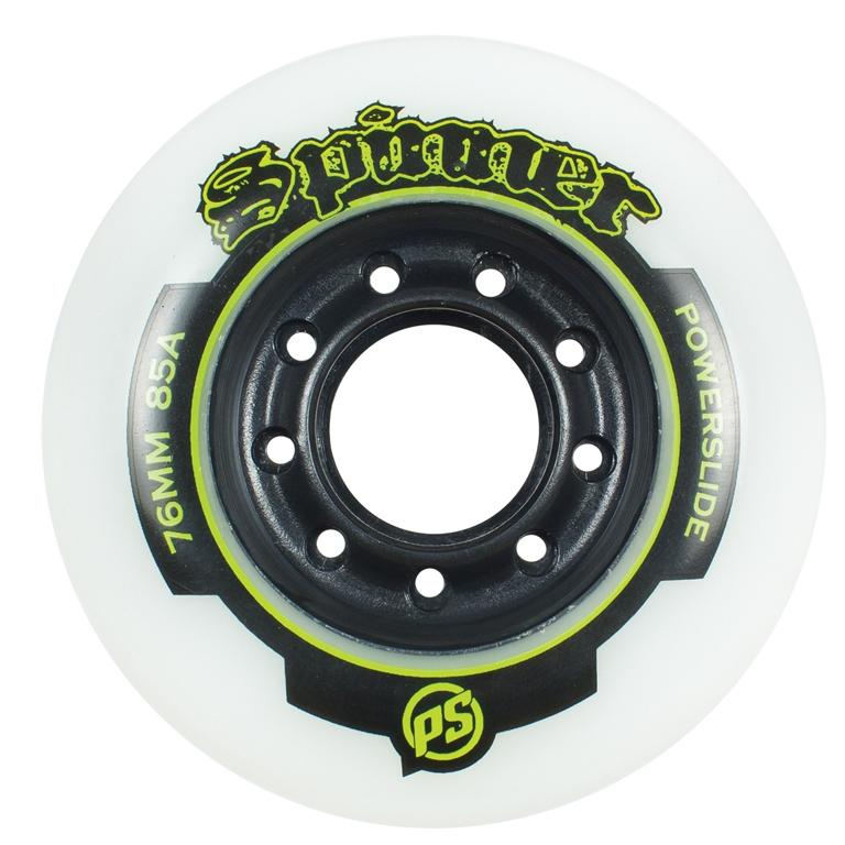 Powerslide Spinner Wheels 4 Pack 85a