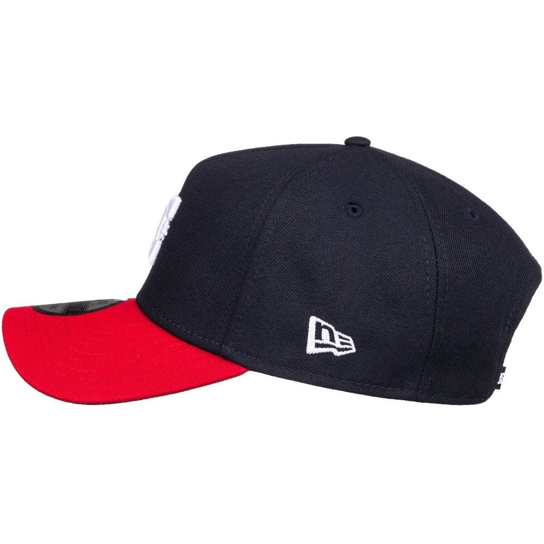 DC Swerve 9Forty Snapback Black/Racing Red