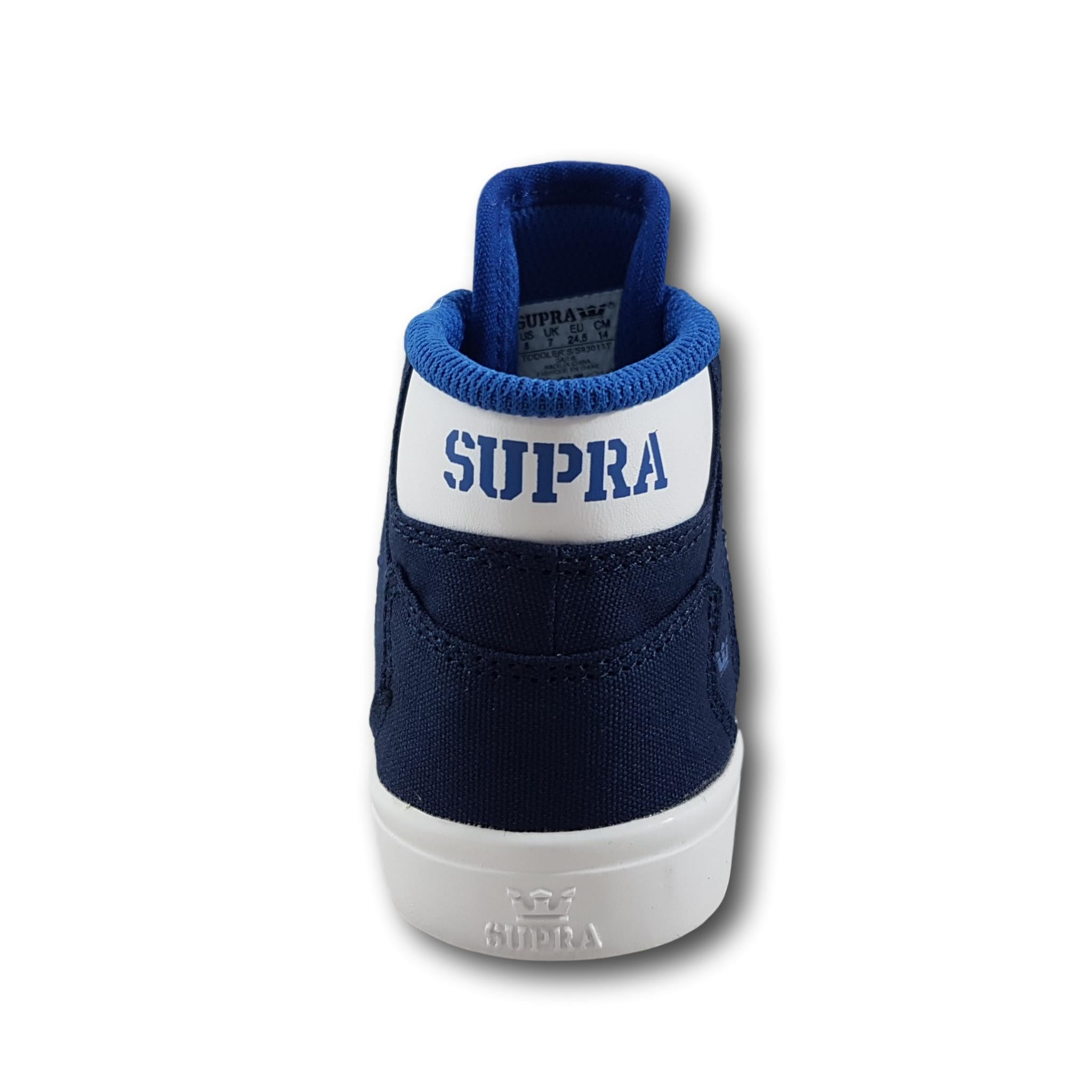 Supra Vaider Toddler Navy/Blue/White
