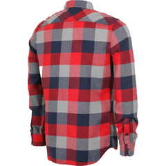 Vans Box Flannel Racing Red/Dress Blue