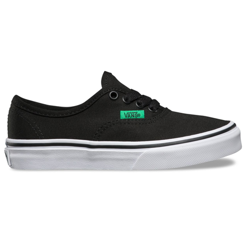 Vans Authentic Youth (Sport Pop) Black/Kelly Green