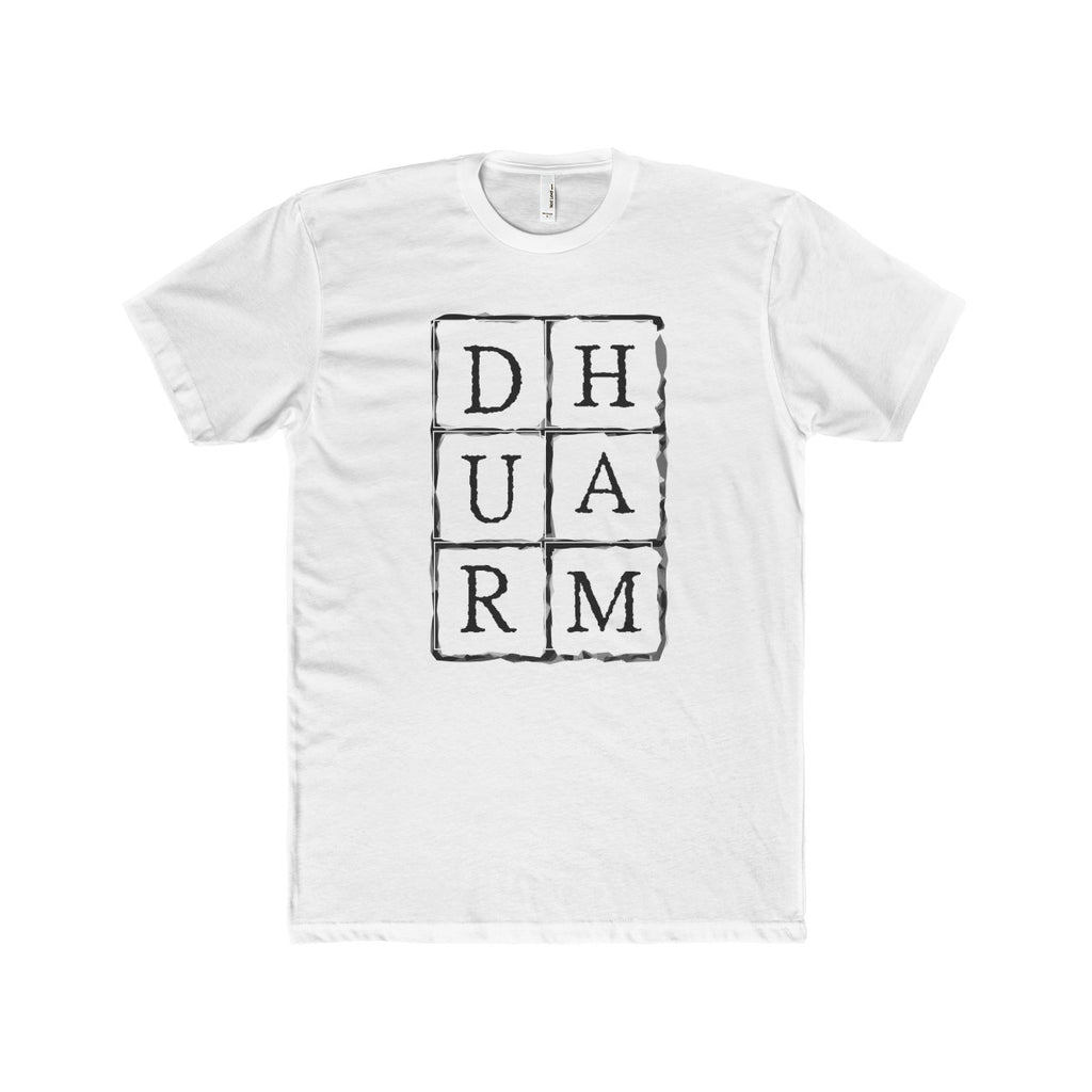 Durham Block Letters  Men's T-Shirt