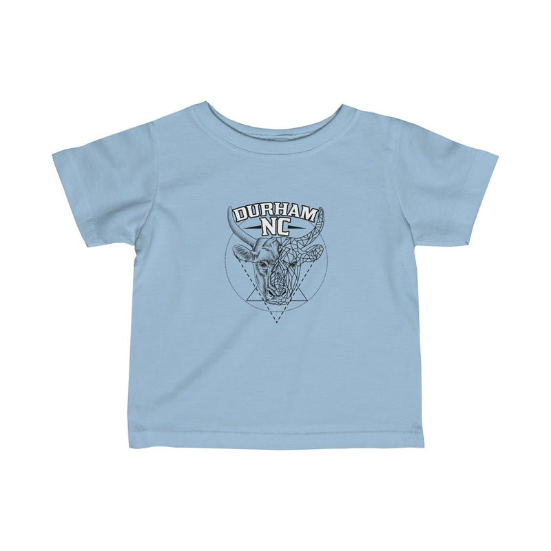 Durham Geometric Bull Head  Infant's T-Shirt