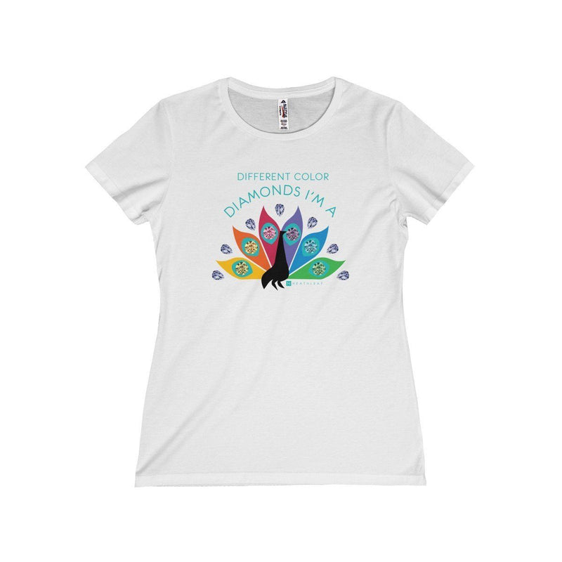 Diamond Peacock  Women's T-Shirt