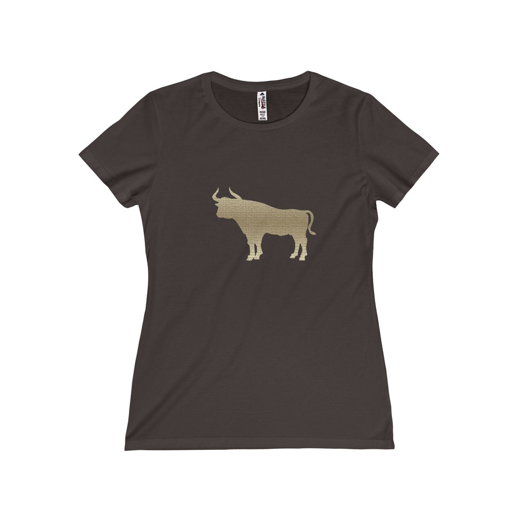 Durham  Tan Bull  Women's T-Shirt