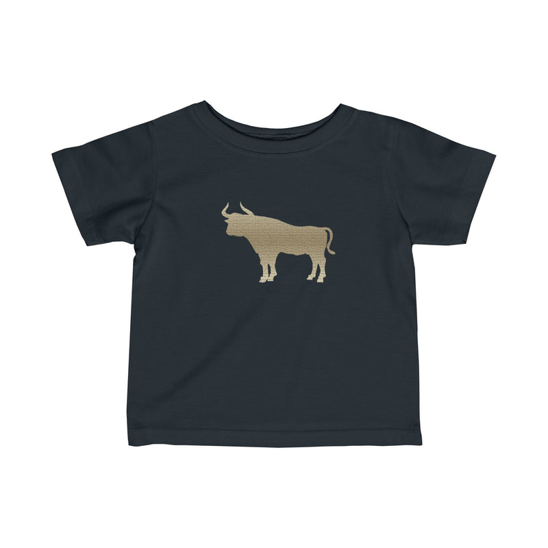 Durham Tan Bull Infant's T-Shirt - HEATHLEAF