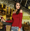 Off Shoulder Date Night Top - HEATHLEAF