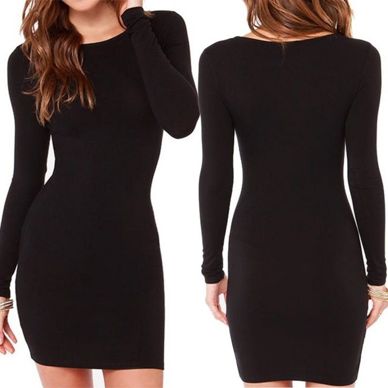 Little Black Date Night Dress - HEATHLEAF