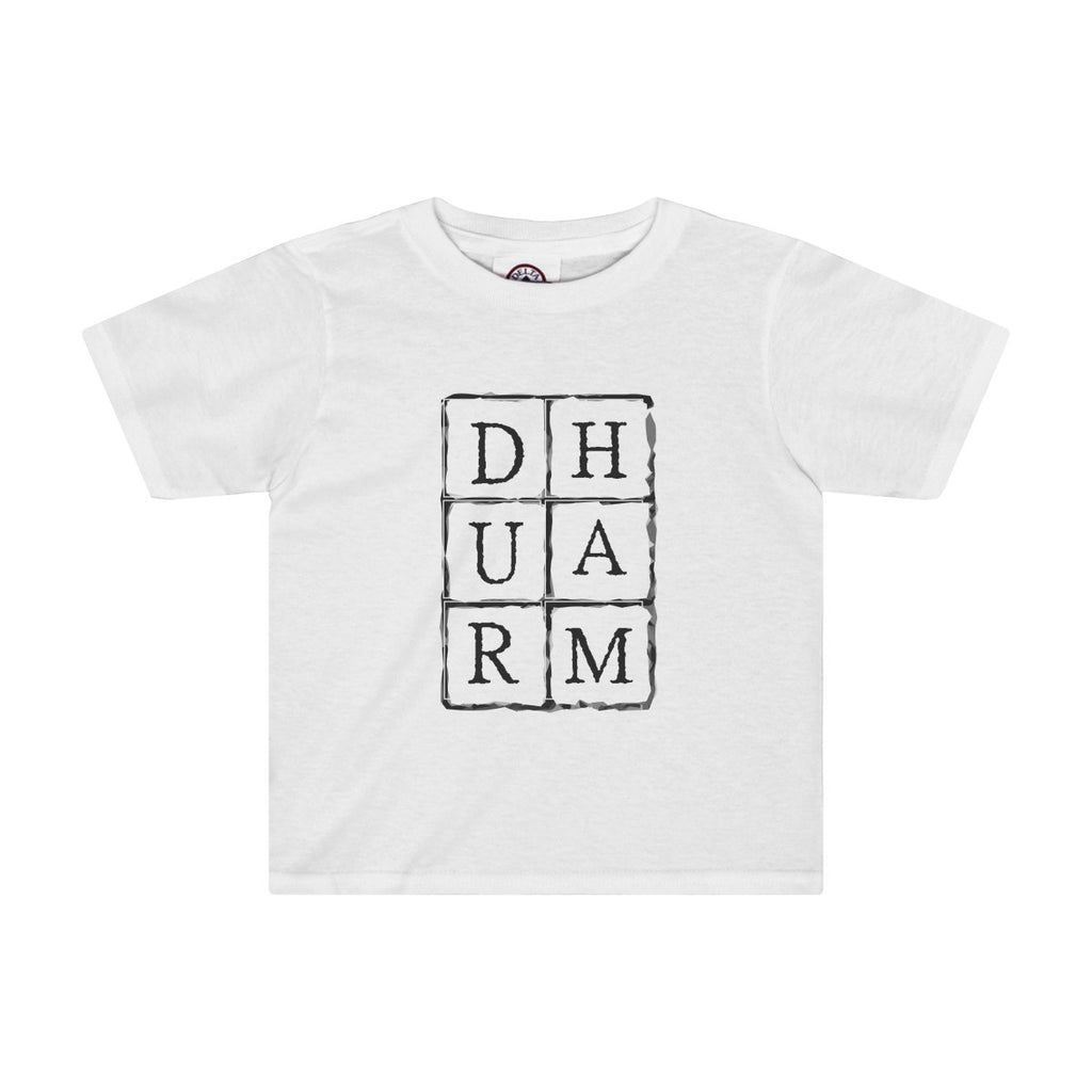 Durham Block Letters  Toddler's T-Shirt