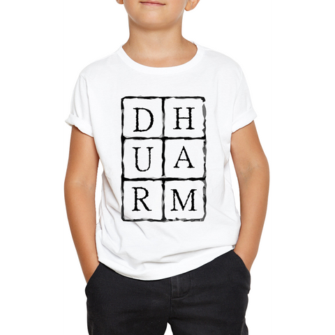 Durham Block Letters  Infant's T-Shirt