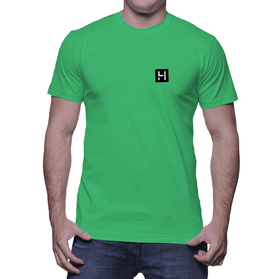 HeathLeaf Logo  Men's T-Shirt - HEATHLEAF