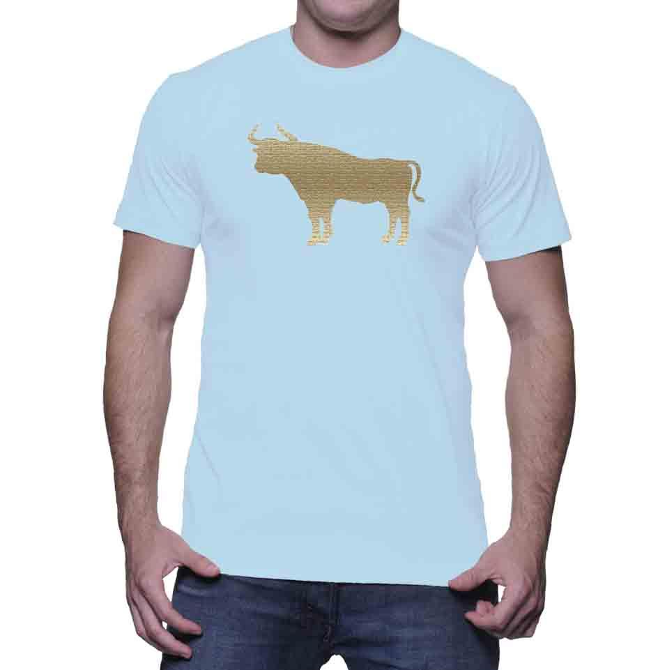 Durham  Tan Bull  Men's T-Shirt