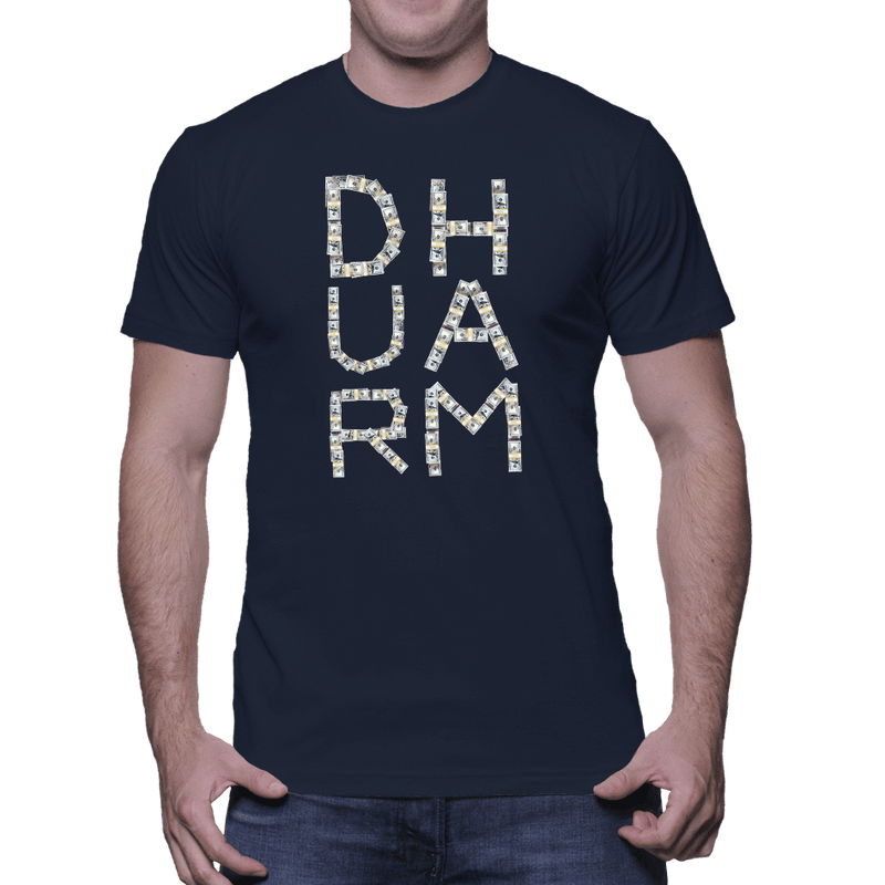 Durham Money  Men's T-Shirt - HEATHLEAF
