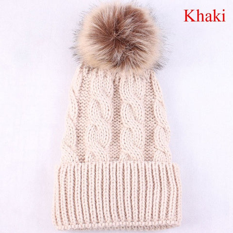 Warm Wool Winter Beanie