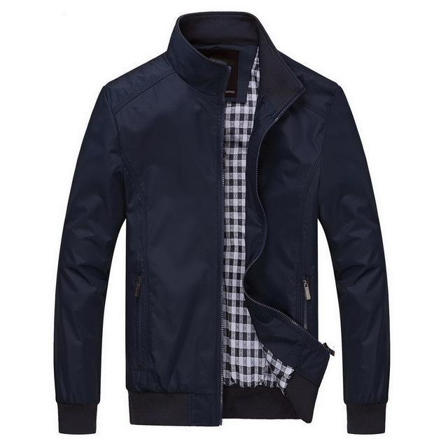 Durable All Season Men's Fashion Jacket - HEATHLEAF