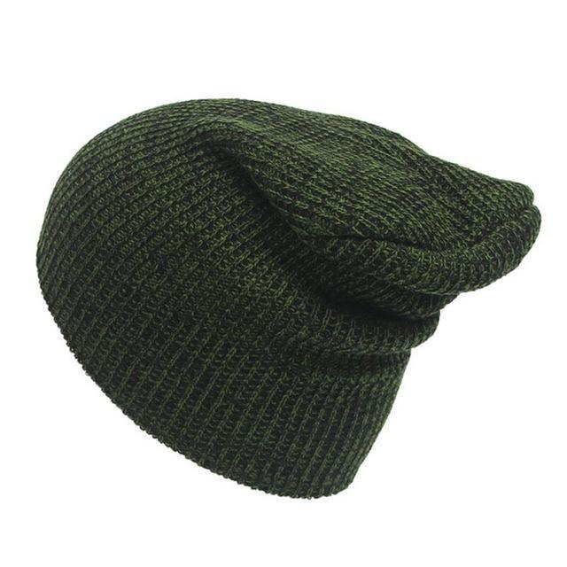 Warm Wool Winter Beanie - HEATHLEAF