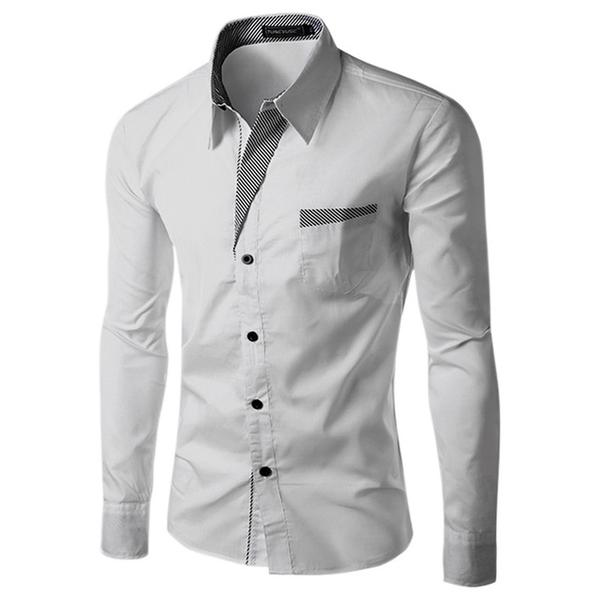 Men's Casual Button-Up