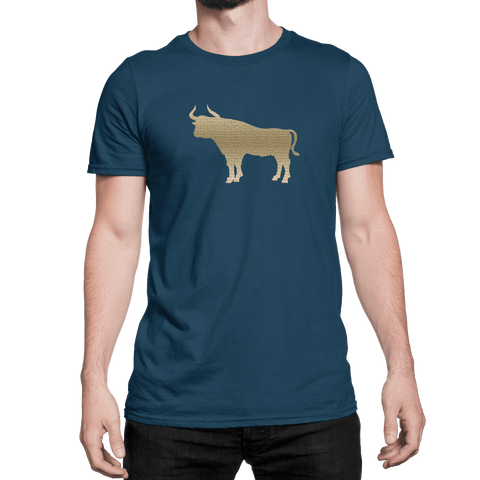 Tan Bull - Unisex T-Shirt - HeathLeaf