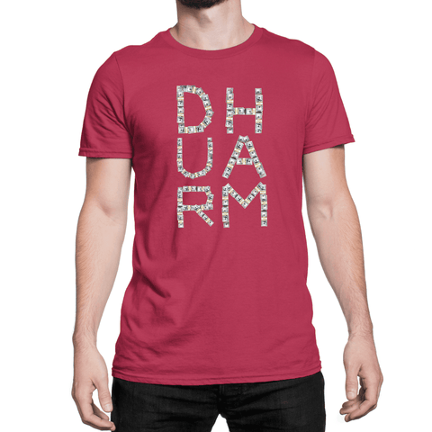 Durham Money - Unisex T-Shirt - HeathLeaf