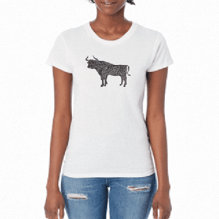 Gray Bull - Women's T-Shirt