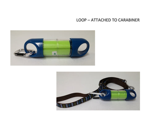 Attach with carabiner