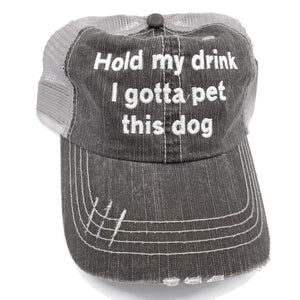 Truckers Hat-Hold My Drink