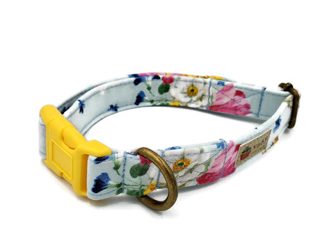 "Organic Cotton Collar in ""Honeysuckle"""