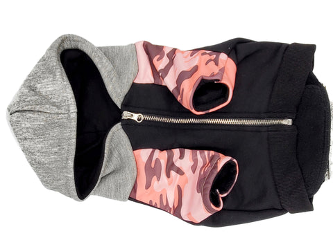 Frenchiestore Limited Edition Hoodie in Ultimate Camo-Pink