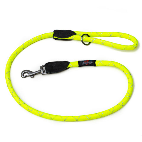 "Urban Trek Rope Leash- 48"" Neon Yellow"