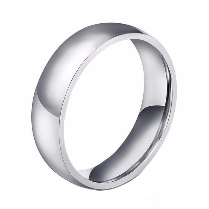 Wedding Band with High Quality Stainless Steel